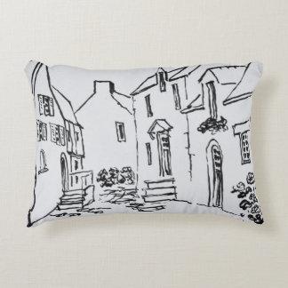 Promenade du Ruicard | La Roche-Bernard, Brittany Accent Pillow