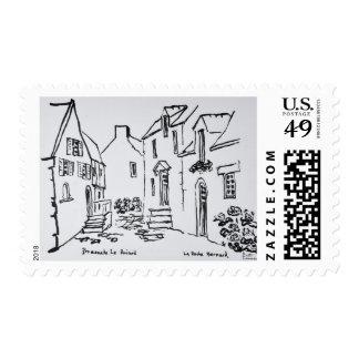 Promenade du Ruicard | La Roche-Bernard, Brittany Postage