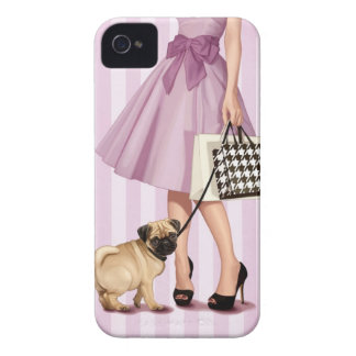 """""""promenade"""" elegante iPhone 4 Case-Mate fundas"""