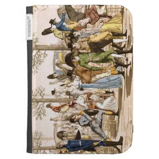 """""""promenade"""" en Longchamps, 1802 (grabado)"""