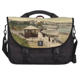 Promenade from Anchor Head Weston-super-Mare Laptop Commuter Bag