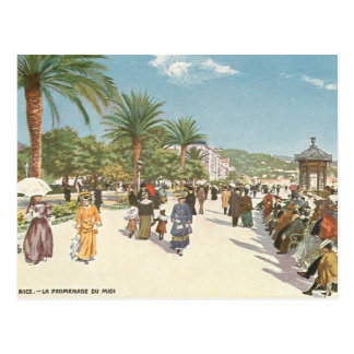 Promenade in Nice Postcard