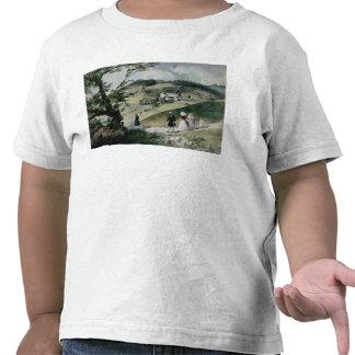 Promenade in Tabon Tee Shirts