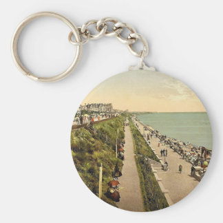 Promenade looking east, Clacton-on-Sea, England cl Keychain