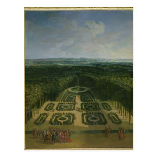 Promenade Louis XIV  in Gardens the Grand Postcard