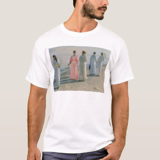 Promenade on the Beach T-Shirt