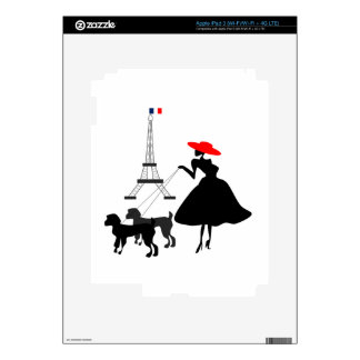 Promenade with Dogs iPad 3 Decals