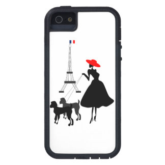 Promenade with Dogs iPhone SE/5/5s Case