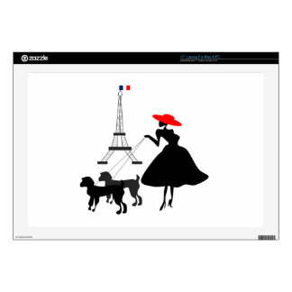 Promenade with Dogs Laptop Skin