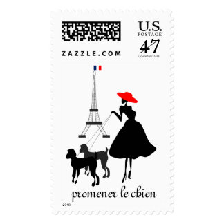 Promenade with Dogs Postage