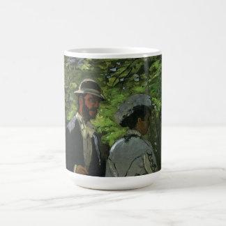 Promenaders by Claude Monet, Vintage Impressionism Coffee Mug