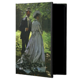 Promenaders by Claude Monet, Vintage Impressionism iPad Air Cover