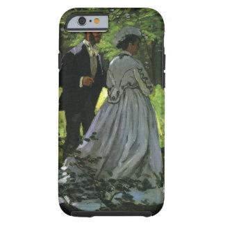 Promenaders by Claude Monet, Vintage Impressionism Tough iPhone 6 Case