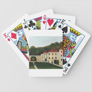 Promeneurs dans un Parc by Henri Rousseau Bicycle Playing Cards
