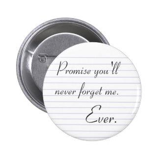 Promesa Pin Redondo De 2 Pulgadas