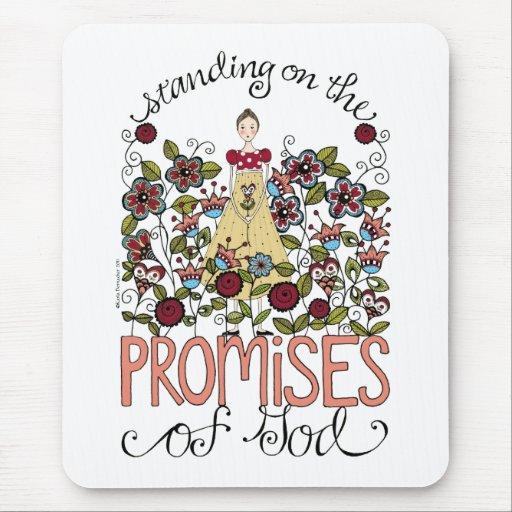 Promesas - cojín de ratón tapetes de raton