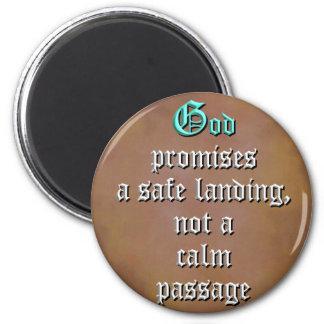 Promesas de dios imán redondo 5 cm