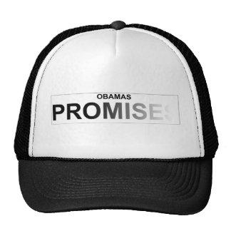 Promesas políticas de Obama Gorra