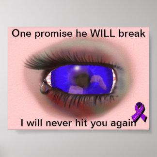 Promesas quebradas póster