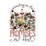 Promesas - tarjeta de la inspiración tarjeta de negocio
