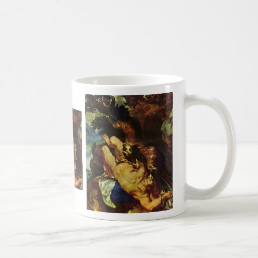 Prometheus Bound By Rubens Peter Paul Classic White Coffee Mug