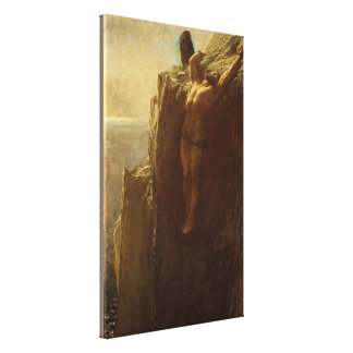 Prometheus by Briton Riviere Canvas Print