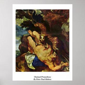 PROMETHEUS encadenado de Peter Paul Rubens Impresiones