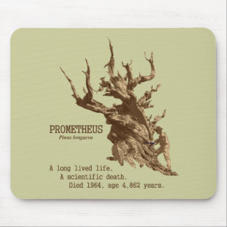 Prometheus: Scientifc Death of a Tree Mousepads