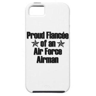 Prometido de la fuerza aérea orgulloso iPhone 5 funda