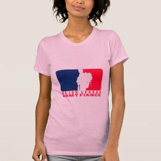 Prometido del ejército de la primera división camisetas