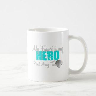 Prometido del ejército - mi héroe es taza clásica