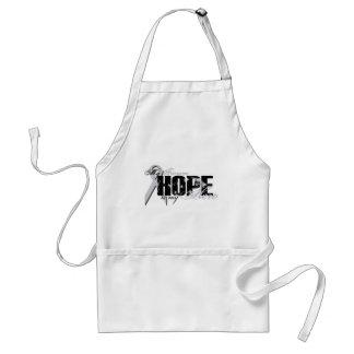 Prometido mi héroe - esperanza del pulmón delantales