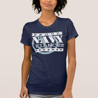 Prometido orgulloso de la marina de guerra camiseta