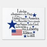 Prometo lealtad a la bandera