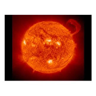 Prominencia solar - The Sun Postal