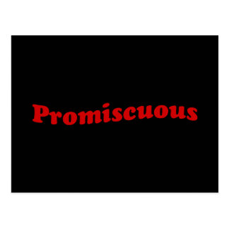Promiscuous Postcard