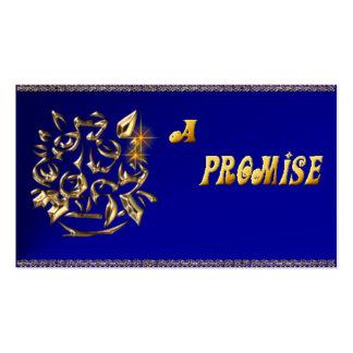 Promise Card_Blue Business Card