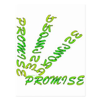 PROMISE I POSTCARD