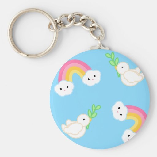 Promise of Peace Keychain
