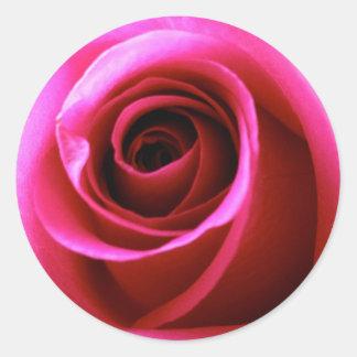 Promise Rose Round Sticker