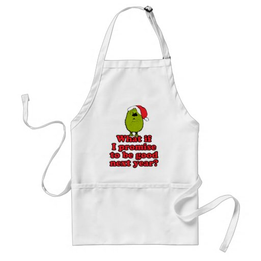 Promise To Be Good Apron