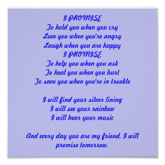 Promise Tomorrow Poster