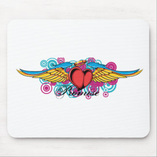 Promise Winged Heart Mouse Pad