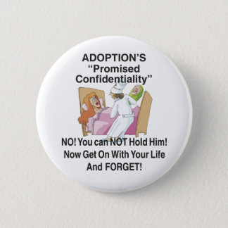 Promised Confidentiality Pinback Button