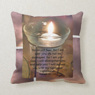 Promises From The Bible: God's Protection Throw Pillow