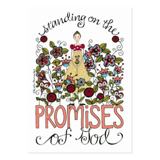 Promises - Inspiration Card Large Business Card