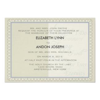 Promises Wedding Invitation