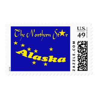 Promo Alaska The Northern Star Flag Postage Stamps