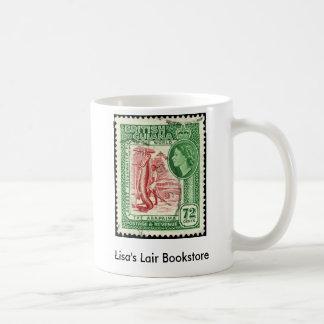 Promo británico de la librería 72c de Guayana 1954 Taza De Café