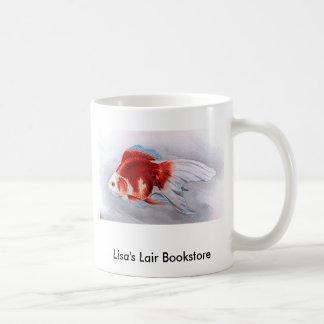 Promo de la librería del goldfish de Ryukin Taza